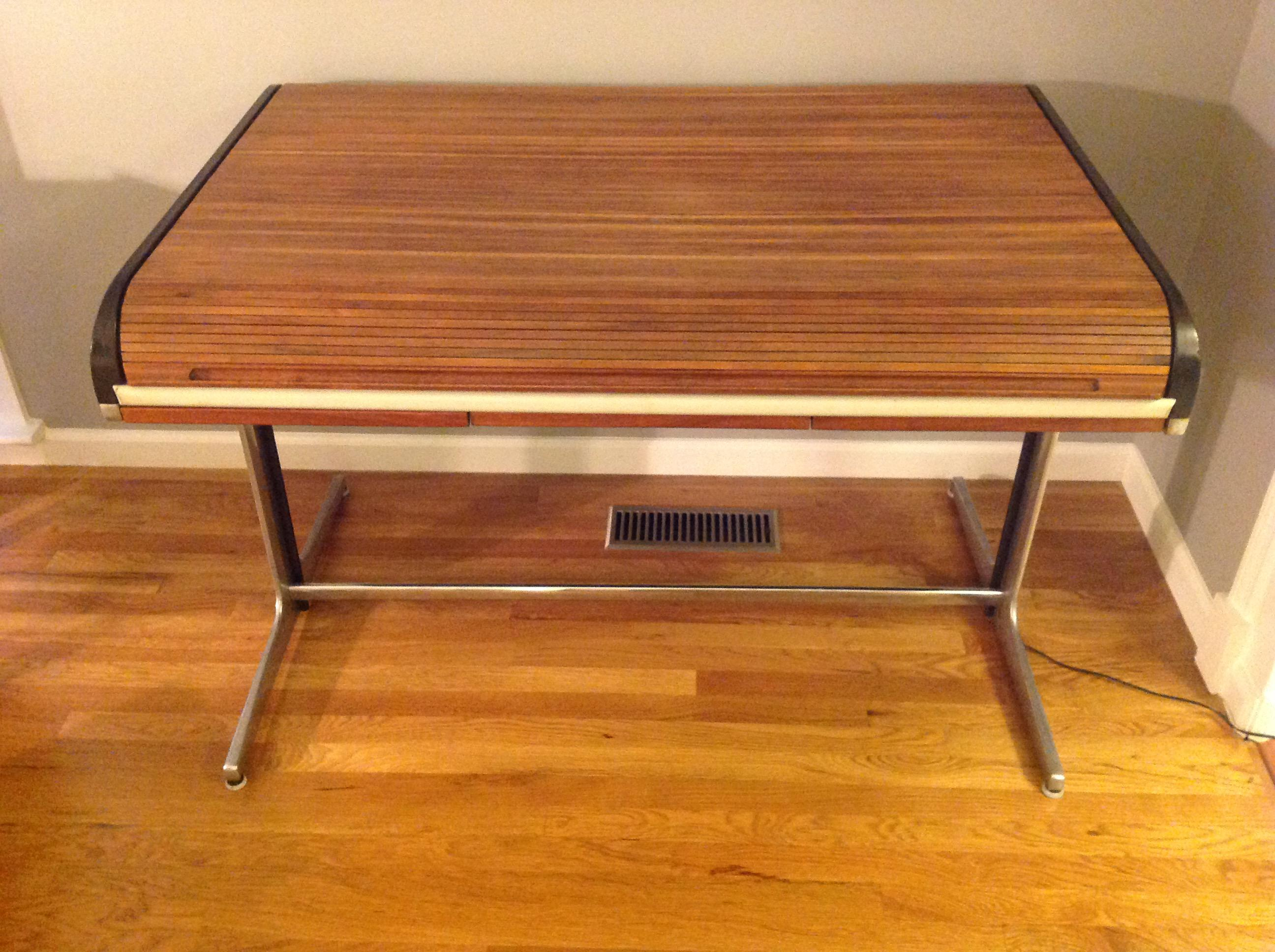 Action Office Roll Top Desk Designed By George Nelson In The 1960s For  Herman Miller.