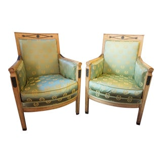 18th Century Directoire Bergeres - a Pair For Sale