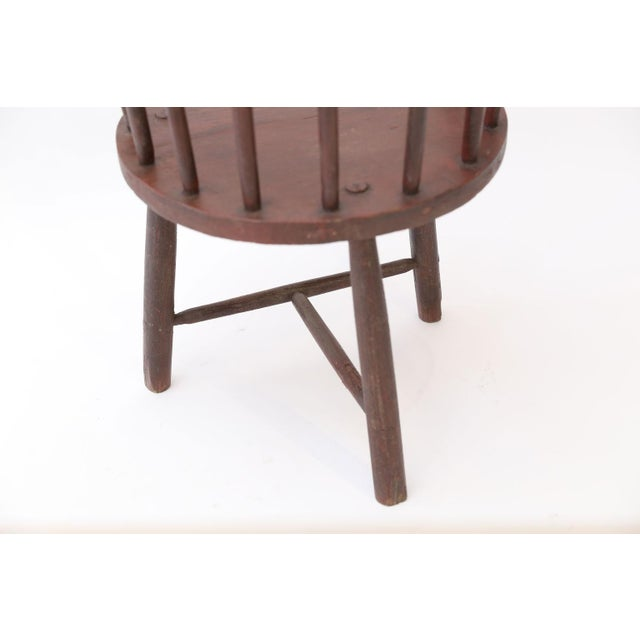 Scottish Horseshoe Back Chair For Sale - Image 10 of 12