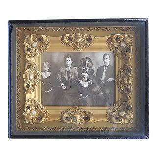 Antique Cased & Framed Photograph For Sale
