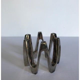 Mid 20th Century Dansk Silver Plate Candle Holder by Jens Quistgaard Preview