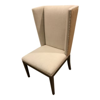 Universal Furniture Upholstered Neutral Dining / Side Chairs - Set of 6 For Sale