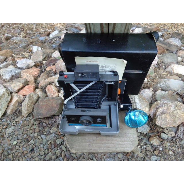 Vintage Polaroid Land Camera For Sale - Image 5 of 6