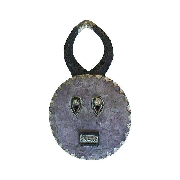 Antique African Baule Goli Horned Mask - Image 1 of 8