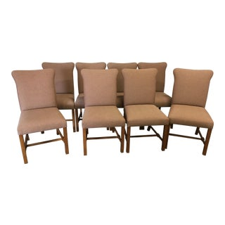 1990s Vintage Dessin Fournir Dining Chairs - Set of 8 For Sale
