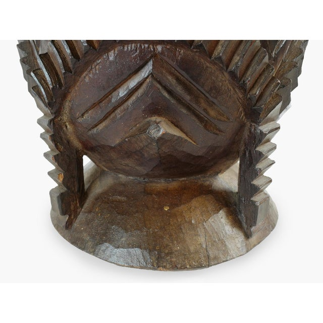 Wood Nupe Pot For Sale In Los Angeles - Image 6 of 7