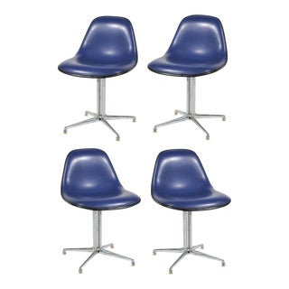 Set of Four Eames / Girard La Fonda Side Chairs by Herman Miller For Sale