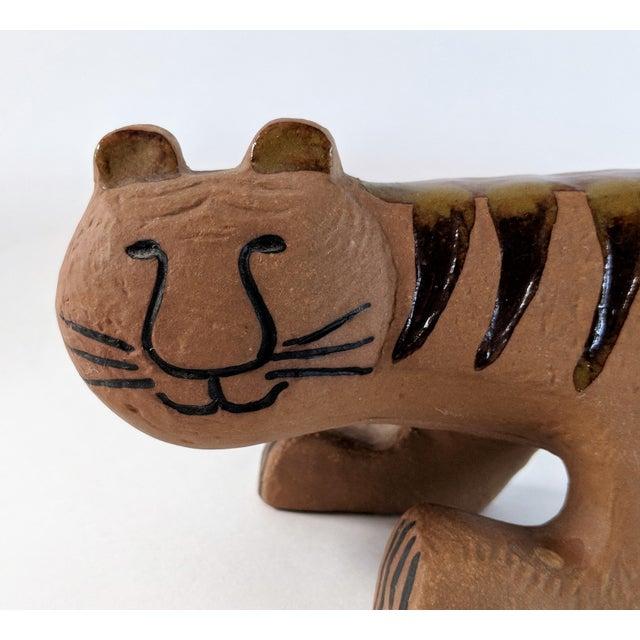 Ceramic Tiger by Lisa Larson for Gustavsberg, 1970s For Sale - Image 12 of 13