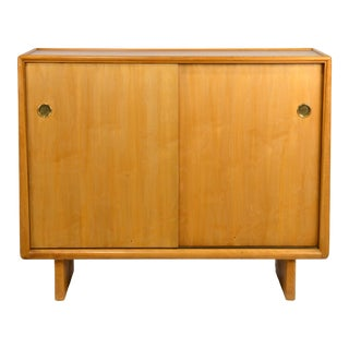 Walnut Gentleman's Chest or Cabinet by T.H. Robsjohn Gibbings For Sale