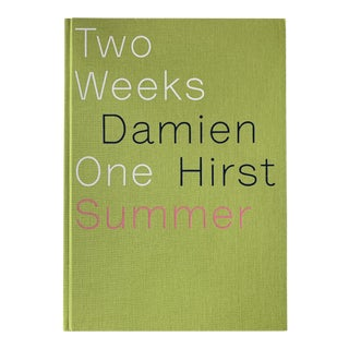 Two Weeks One Summer by Damien Hirst Coffee Table Art Book For Sale