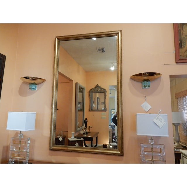 19th Century French Gold Leaf Mirror For Sale In New Orleans - Image 6 of 7