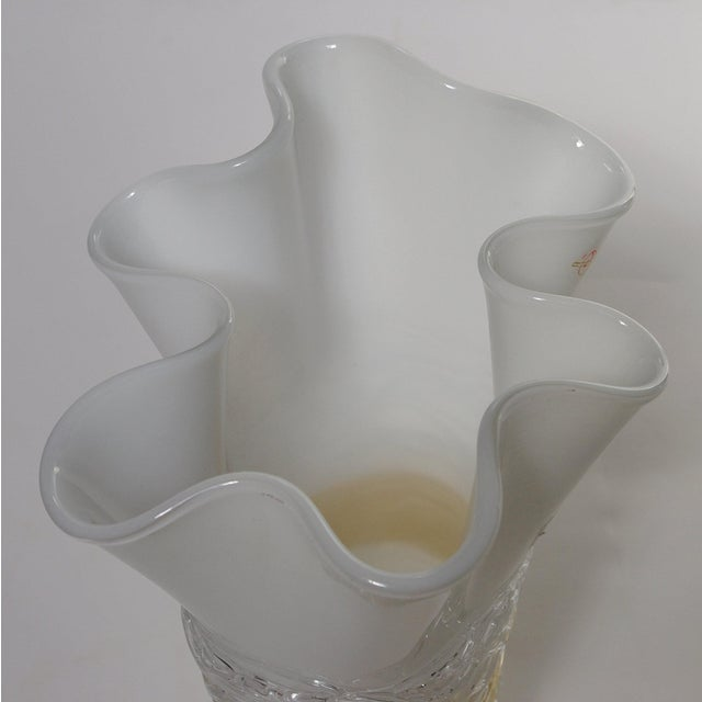 Mid 20th Century Italian Murano Glass Vase by Camozzo For Sale - Image 5 of 9