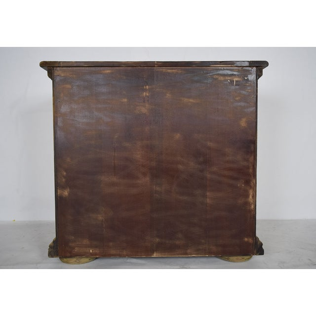 1970s Baroque Style Bleached Wood Chest of Drawers For Sale - Image 10 of 10