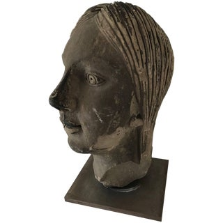 Art Deco Bust For Sale