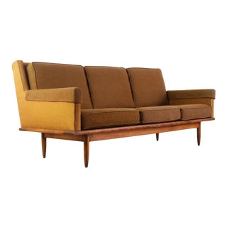 Handsome Mid Century Sofa by Conant Ball With Orignal Upholstery For Sale