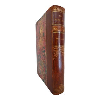 Late 19th Century Leather Book, Lew Wallace's the Fair God For Sale