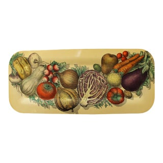1960s Piero Fornasetti Serving Tray, Italy For Sale