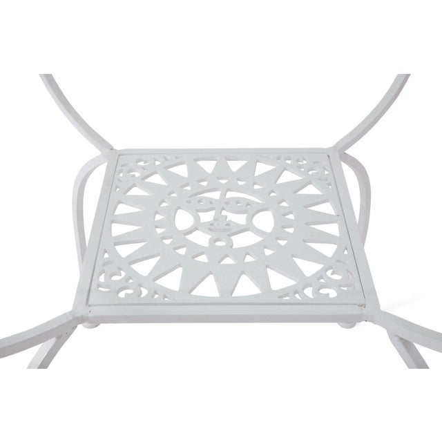 """Metal Arthur Umanoff """"Mayan"""" Iron Dining Set for Shaver Howard For Sale - Image 7 of 10"""