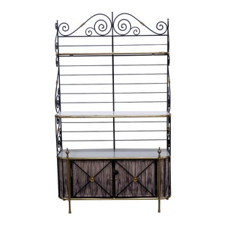 French Regency Style Bakers Rack For Sale