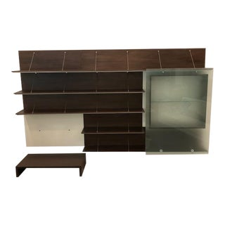 Contemporary Wall Mounted Shelving Unit For Sale