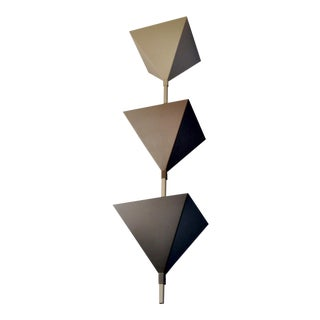 Cubistic Ceiling Lamp, Zurich 1980s For Sale