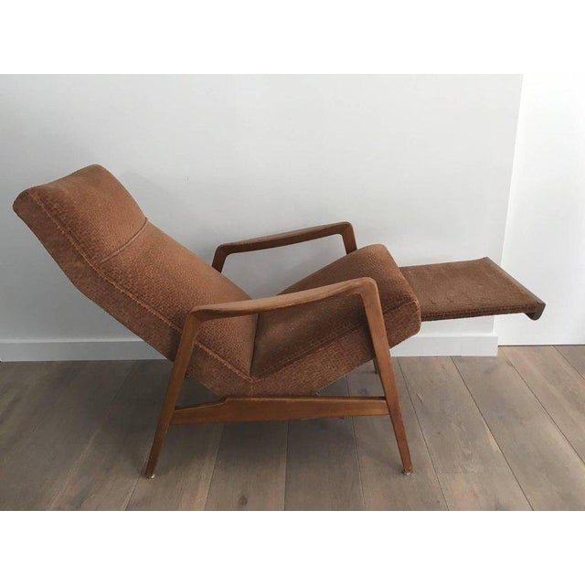 Rare Pair of Reclining Armchairs by Knoll Antimott - Image 7 of 11