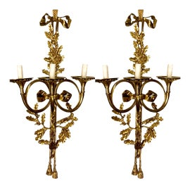 Image of Neoclassical Revival Sconces and Wall Lamps