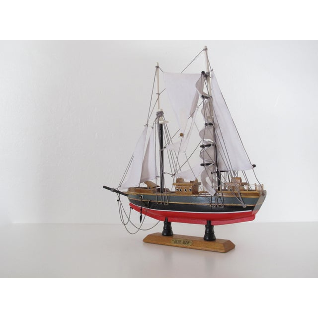 "Red ""Blue Nose"" Ship Model For Sale - Image 8 of 9"