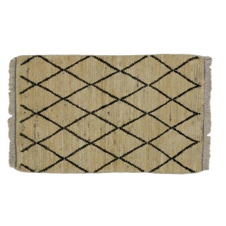 Moroccan Style Trellis Rug, Kitchen, Bath Mat, Foyer or Entry Rug, 2' X 3' For Sale