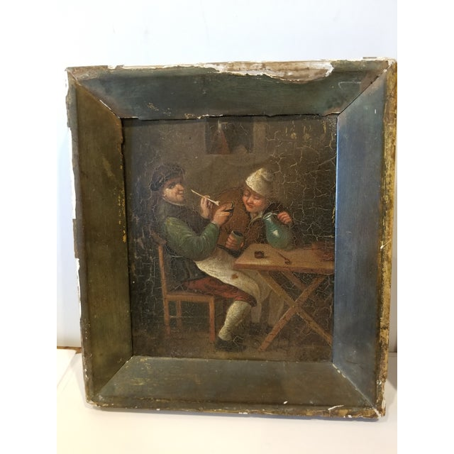 Early 19th Century Pair of Dutch Paintings For Sale - Image 5 of 8