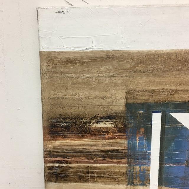 Claudio Feldman Original Oil on Canvas Painting For Sale In San Francisco - Image 6 of 10