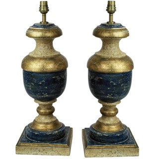 Pair of Florentine Lamps For Sale
