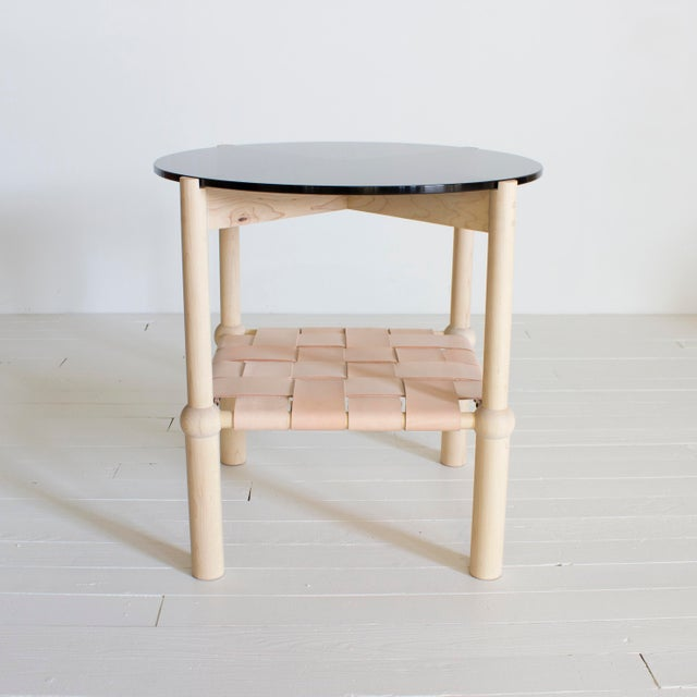 Gold Mae Side and Accent Table For Sale - Image 8 of 8