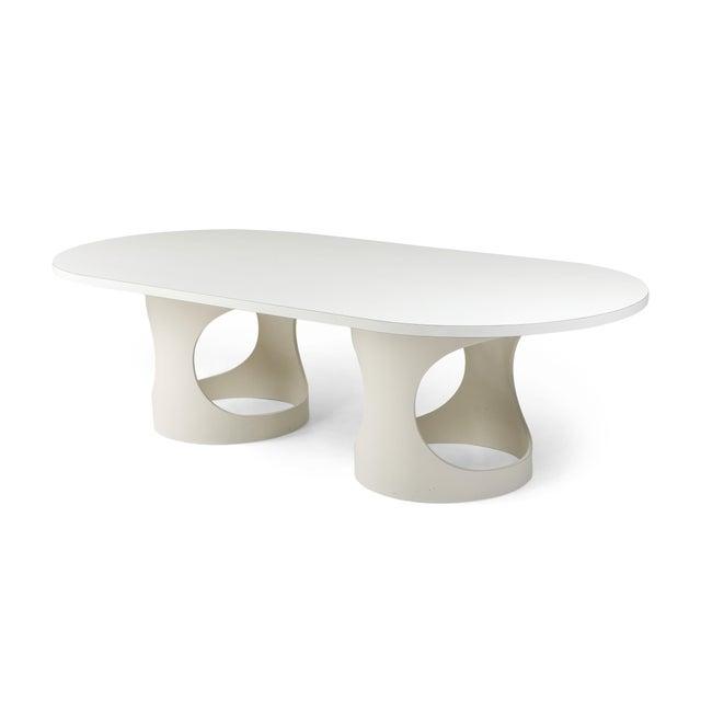 Arne Jacobsen Pre Pop Dining Table for Asko - 1969 For Sale - Image 12 of 12