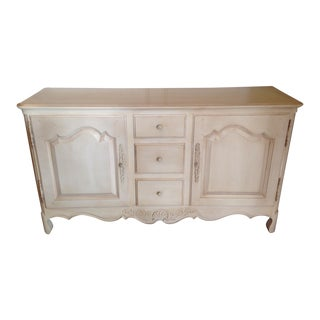 Ethan Allen Antique White Maple Buffet