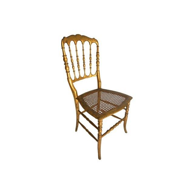 Vintage Chiavari Style Gold Chair - Image 2 of 5