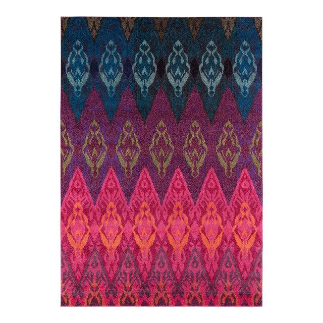 "Contemporary Momeni Casa Polypropylene Multi Area Rug - 7'10"" X 9'10"" For Sale"