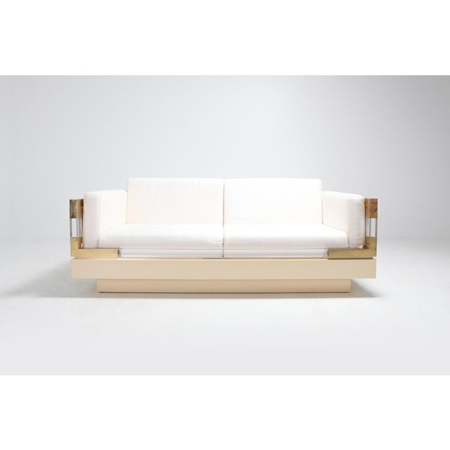 Charles Hollis Jones designed this 2.5-seat sofa in the 1970s Very modern design which resembles a bit the Jacques...