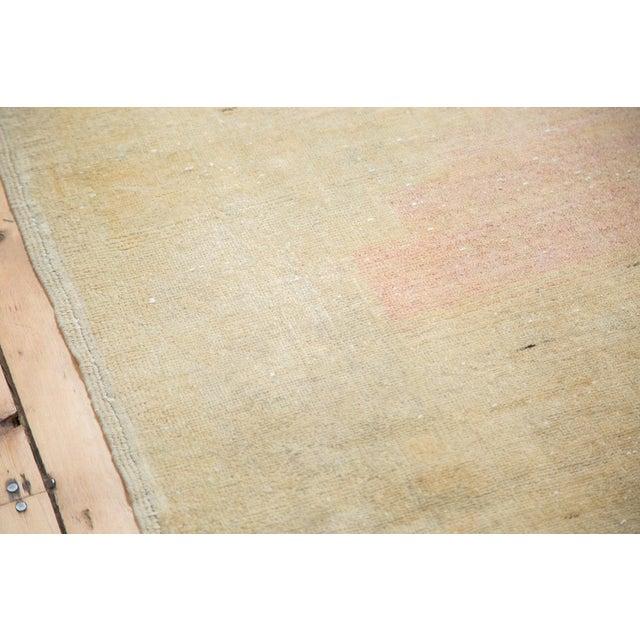 """Distressed Oushak Rug - 5' X 7'6"""" - Image 3 of 9"""