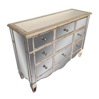 3-Drawer Mirrored Dresser