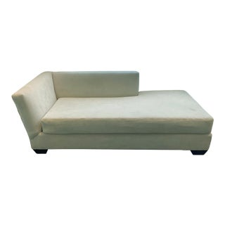 Vintage Mid Century Off-White Daybed, Chaise Longue For Sale