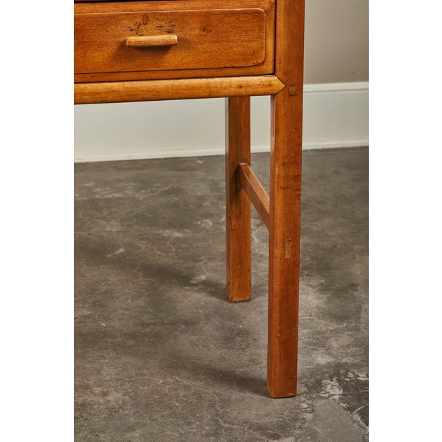 Wood Early 20th C. French Colonial Tigerwood Console For Sale - Image 7 of 10