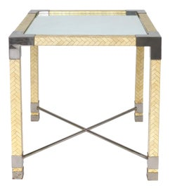 Image of Chrome Accent Tables