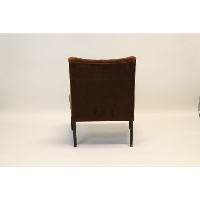 Mid-Century Modern Arm Chairs - A Pair For Sale - Image 4 of 8