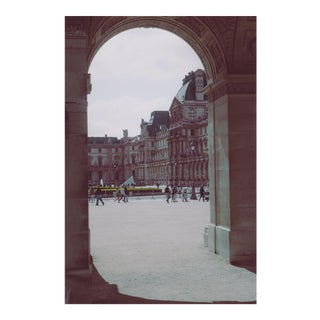 "Modern ""Louvre Through the Arch"" Print by Hardie Cobbs For Sale"
