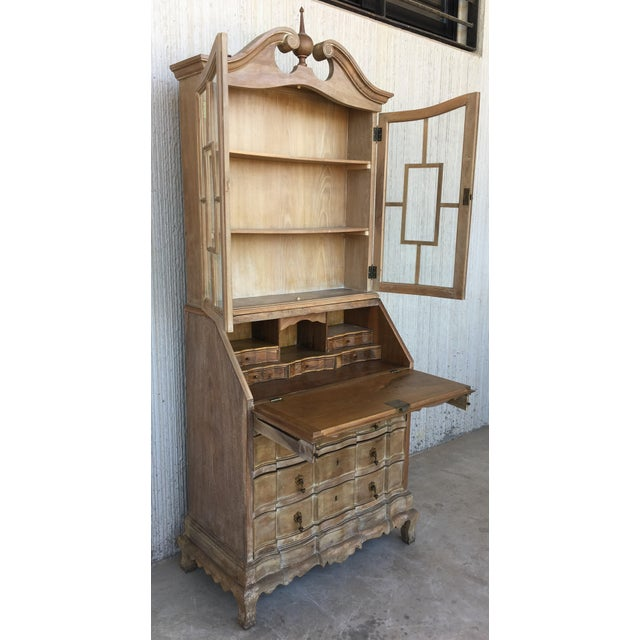 1920s 20th Century George III Secretary Bookcase For Sale - Image 5 of 13