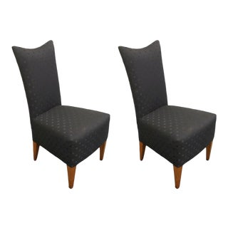 Hickory White Genesis Collection Upholstered Side Dining Chairs- Set of 2 For Sale