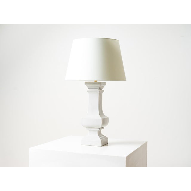 2010s Visual Comfort Balustrade Grande Table Lamp with Shade For Sale - Image 5 of 5