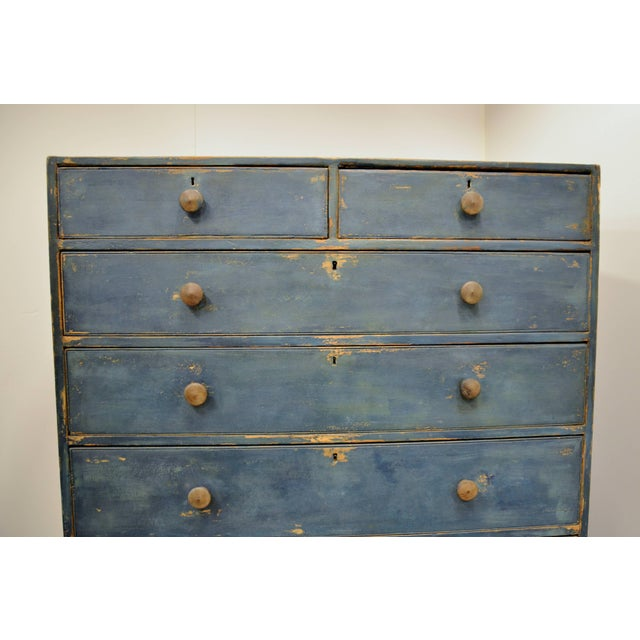 English Chest of Drawers, Early 19th Century For Sale - Image 10 of 11
