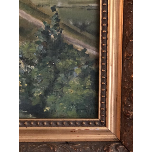 Antique Continental Impressionist Oil Painting For Sale - Image 4 of 13